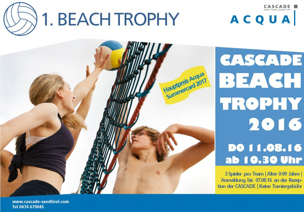 1. CASCADE BEACH TROPHY